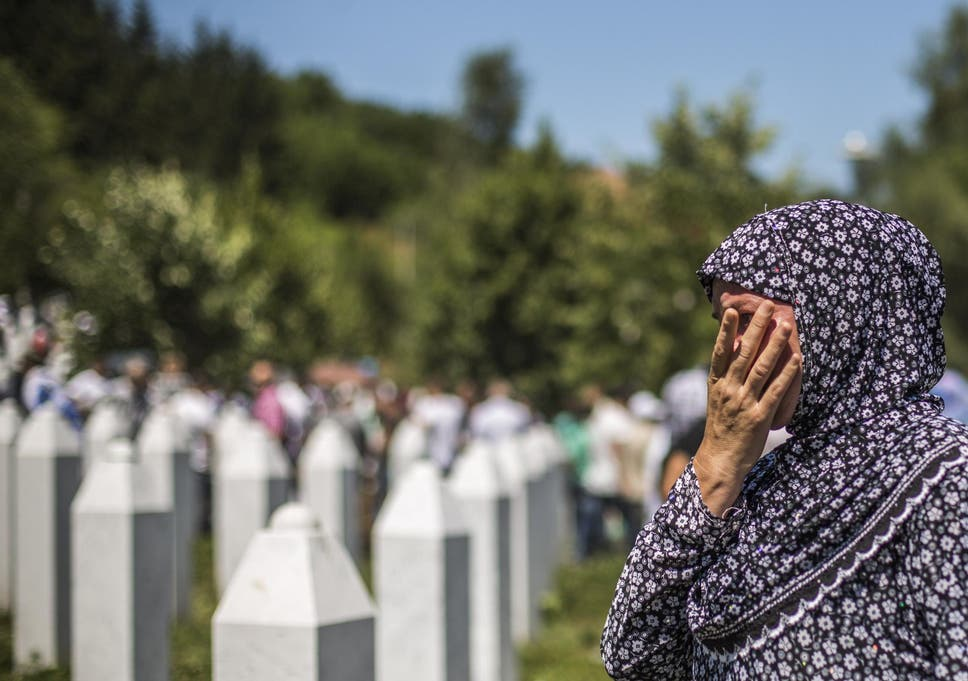 Remember the victims of Srebrenica, 25 years on