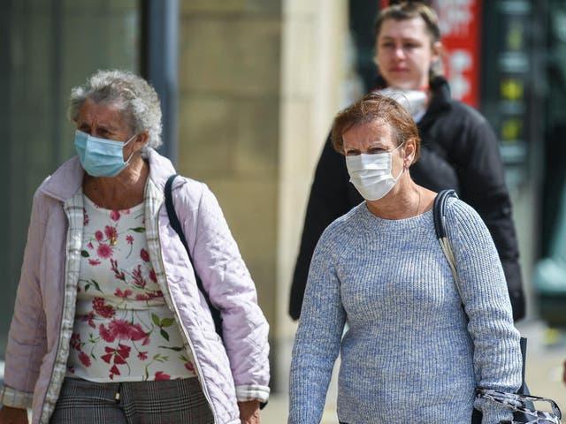 Shoppers on Princes Street in Edinburgh on Friday