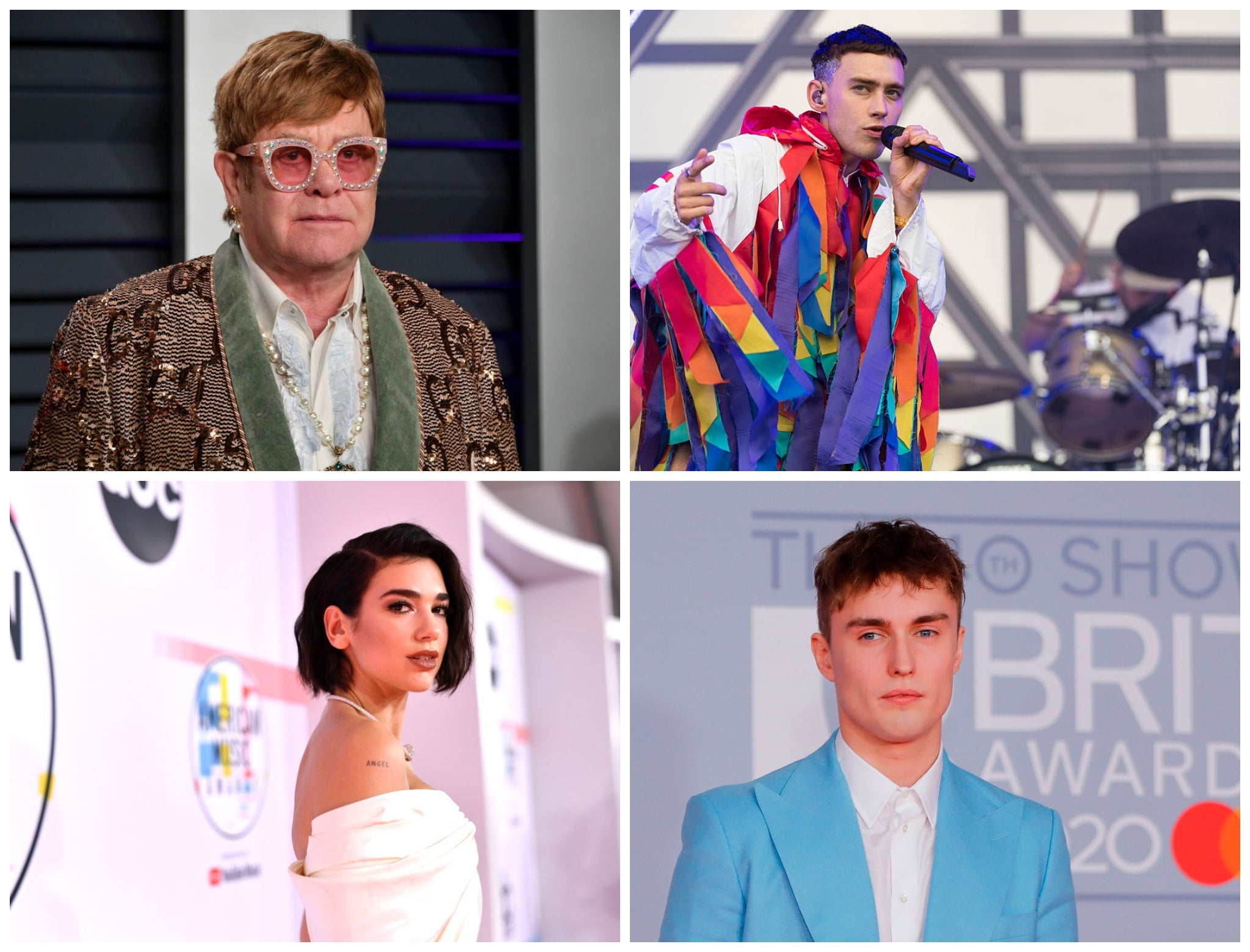Elton John, Dua Lipa and Olly Alexander among artists to sign letter calling for 'conversion therapy' ban