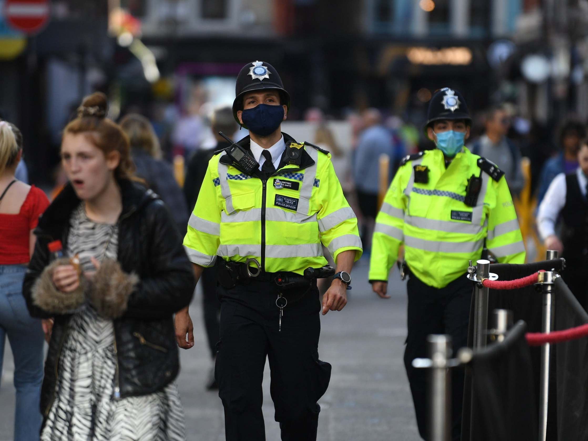 Police enforcement of coronavirus laws at lowest level since lockdown started thumbnail