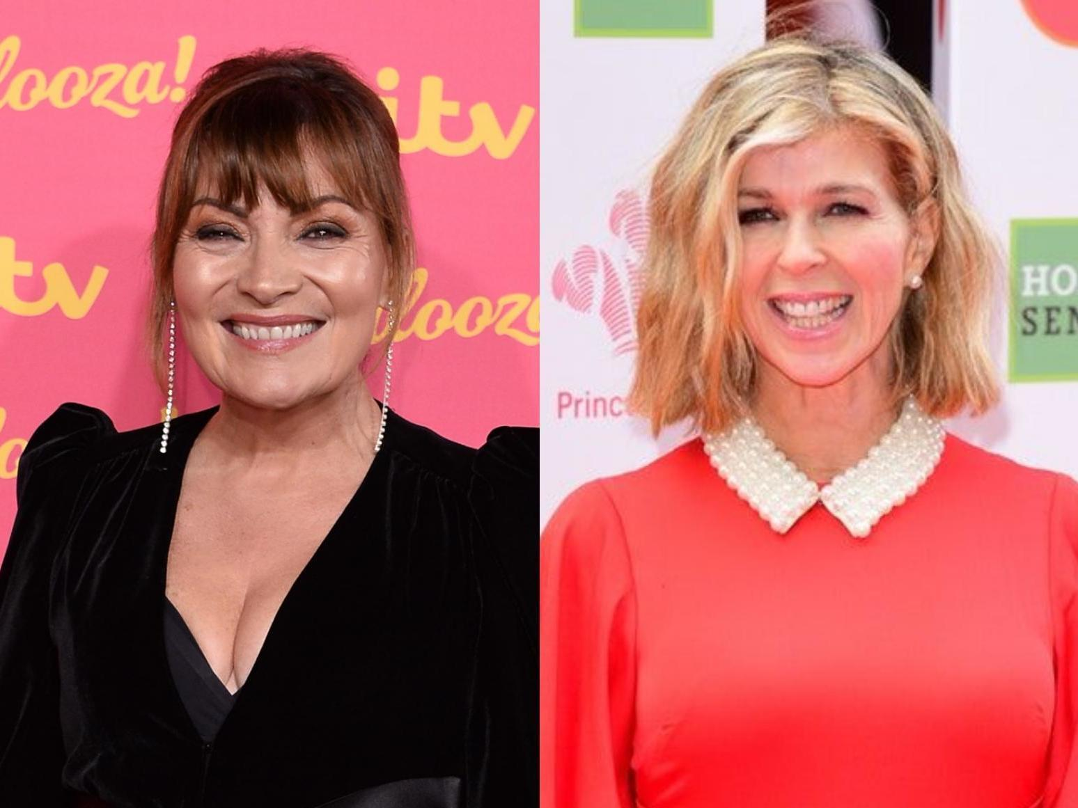 Lorraine Kelly Says She Is So Proud Of Kate Garraway Amid Husband Derek Draper S Coronavirus Battle The Independent The Independent