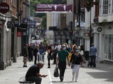UK plunges into deepest recession on record, as economy shrinks 20%