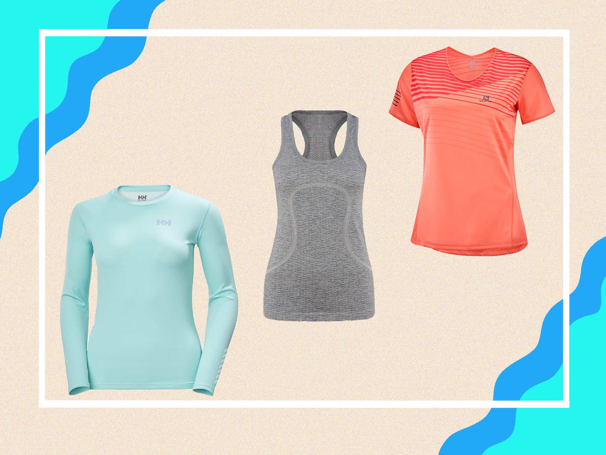 Long-sleeved and tank T-shirt