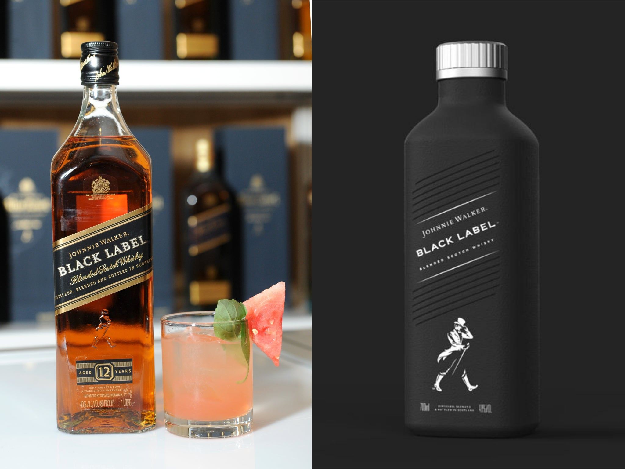 Johnnie Walker whisky to become available in paper-based bottle ...