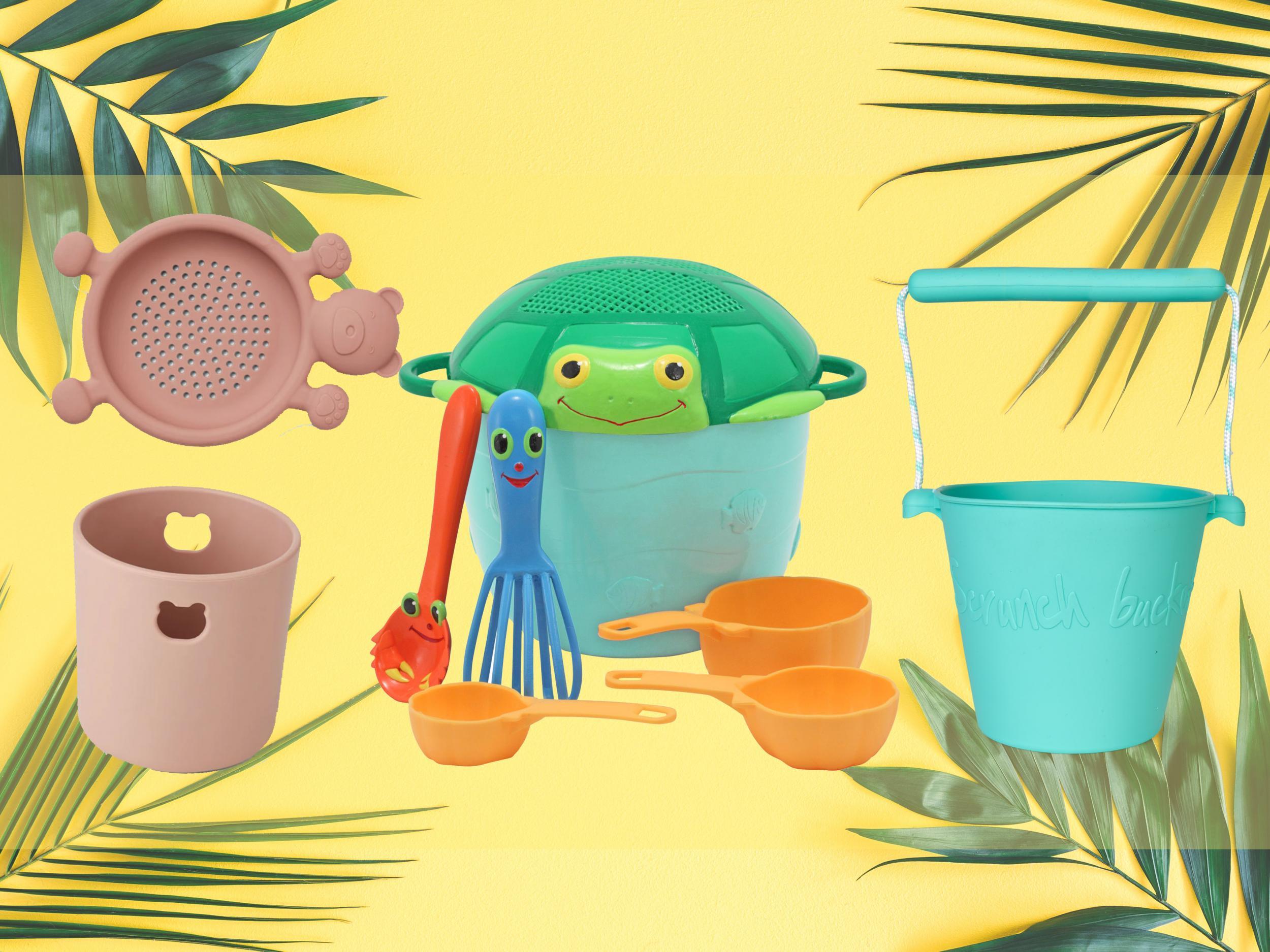 Spade and Rake Set Garden Summer Beach Sand pit toy Gardening toy