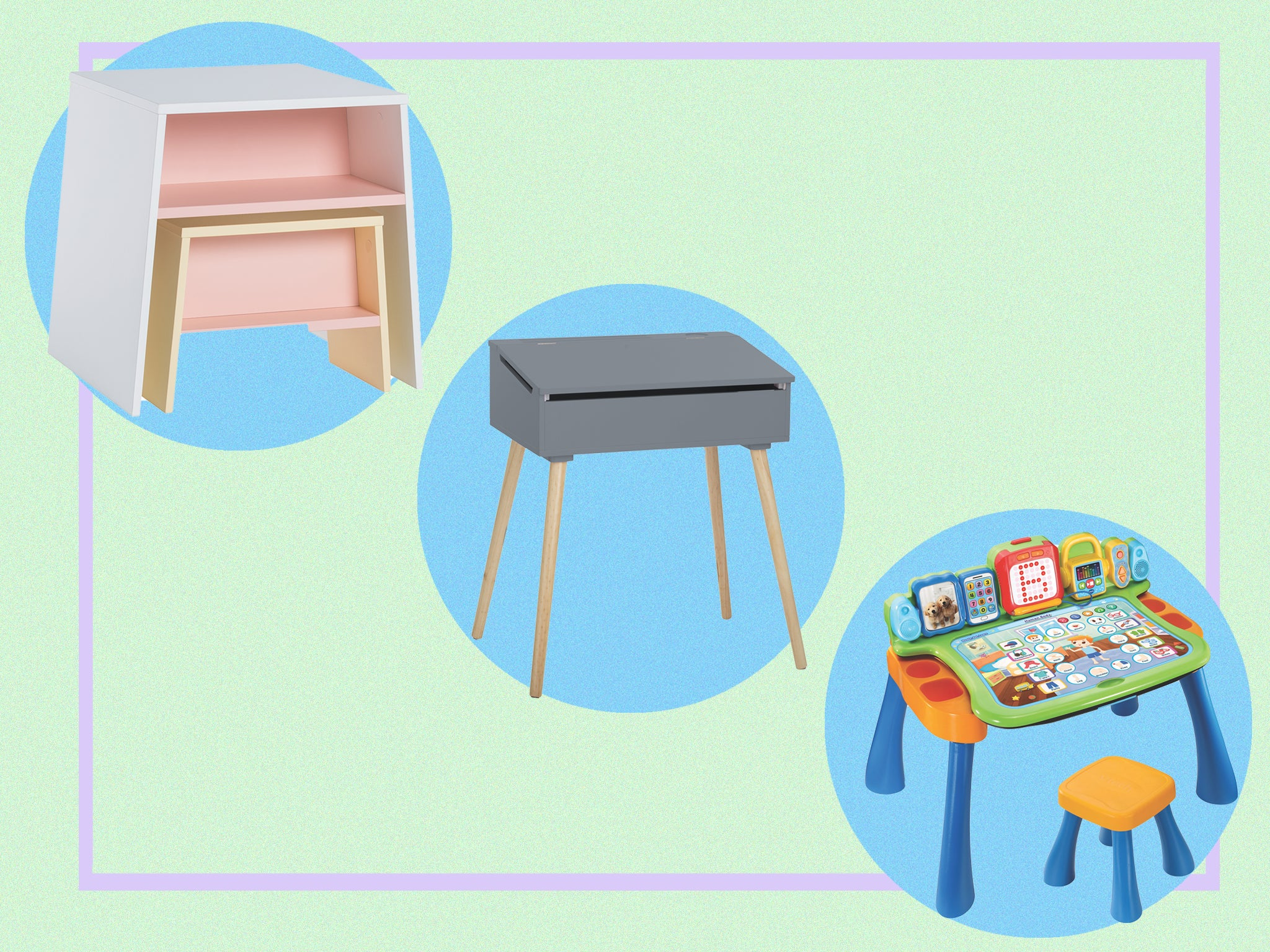 Picture of: Best Kids Desk 2020 Small And Adjustable Tables The Independent