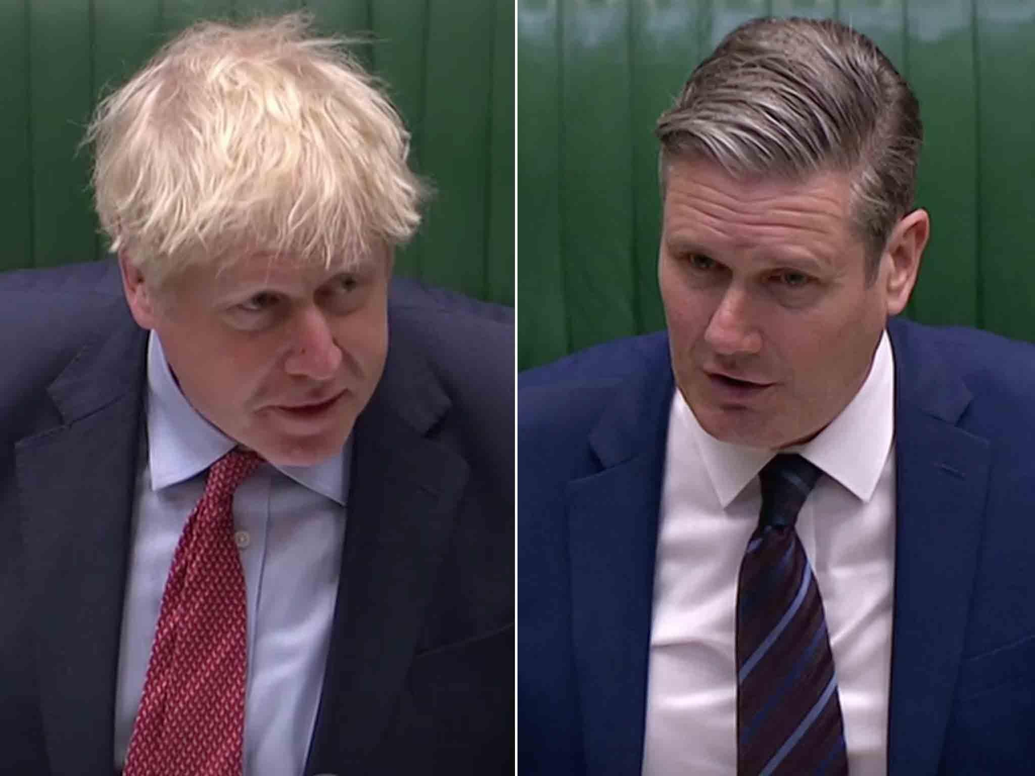 Starmer tells Boris Johnson to punish BA for rehiring 30,000 staff on worse pay and conditions