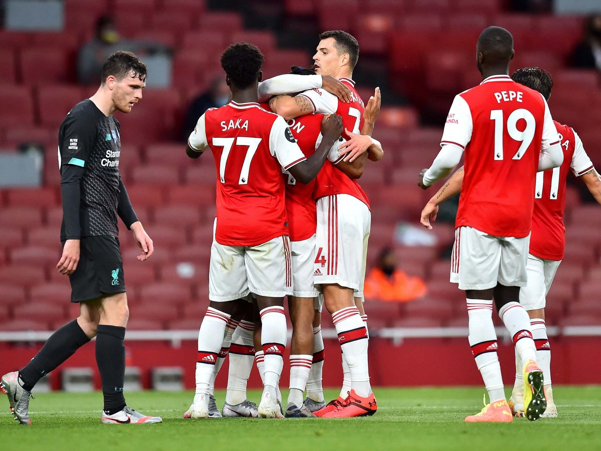Arsenal Vs Liverpool Result Alexandre Lacazette And Reiss Nelson Stun Sloppy Reds Crossfitcaliforniacity Com