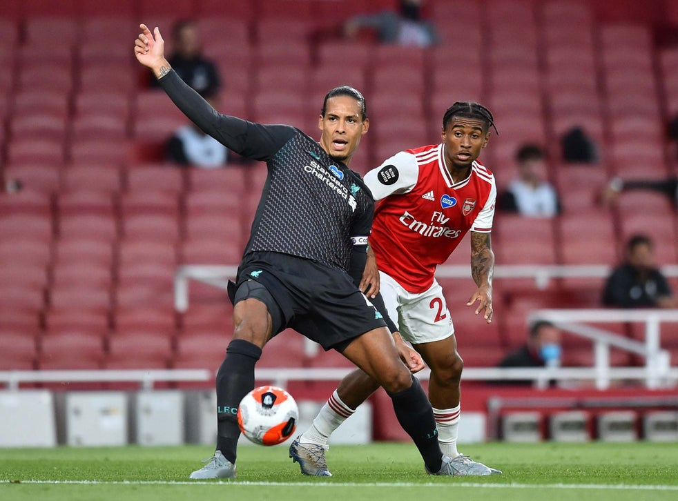 Arsenal Vs Liverpool Result Virgil Van Dijk Takes Blame For Defeat The Independent The Independent