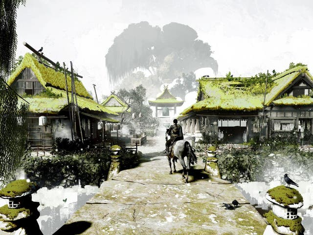 Concept art for 'Ghost of Tsushima', the PS4 samurai epic from the makers of 'Infamous'