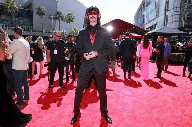 Dr DisRespect at the 2019 ESPYs on 10 July 2019 in Los Angeles, California.