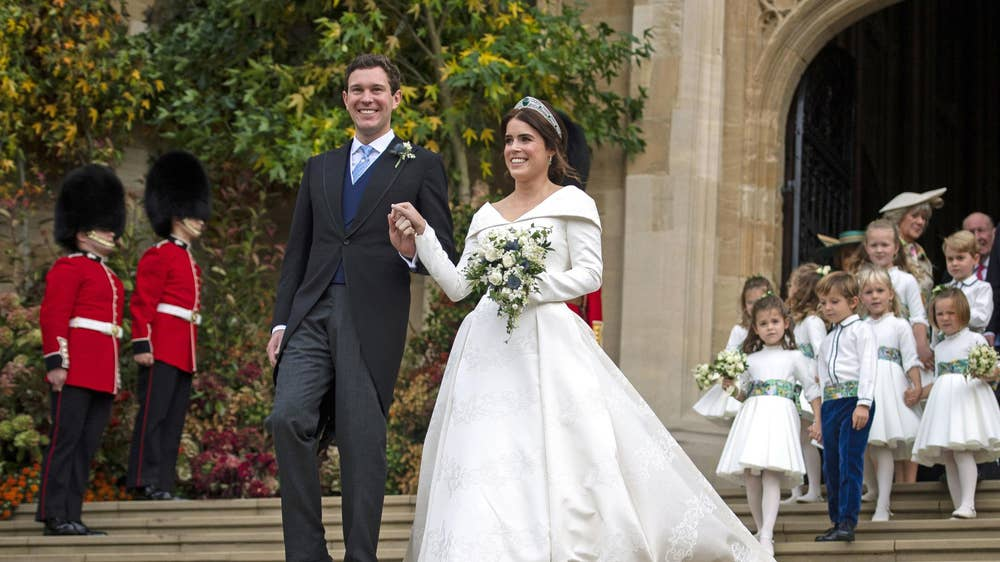 Royal Wedding - Princess Eugenie and Jack Brooksbank, 2018