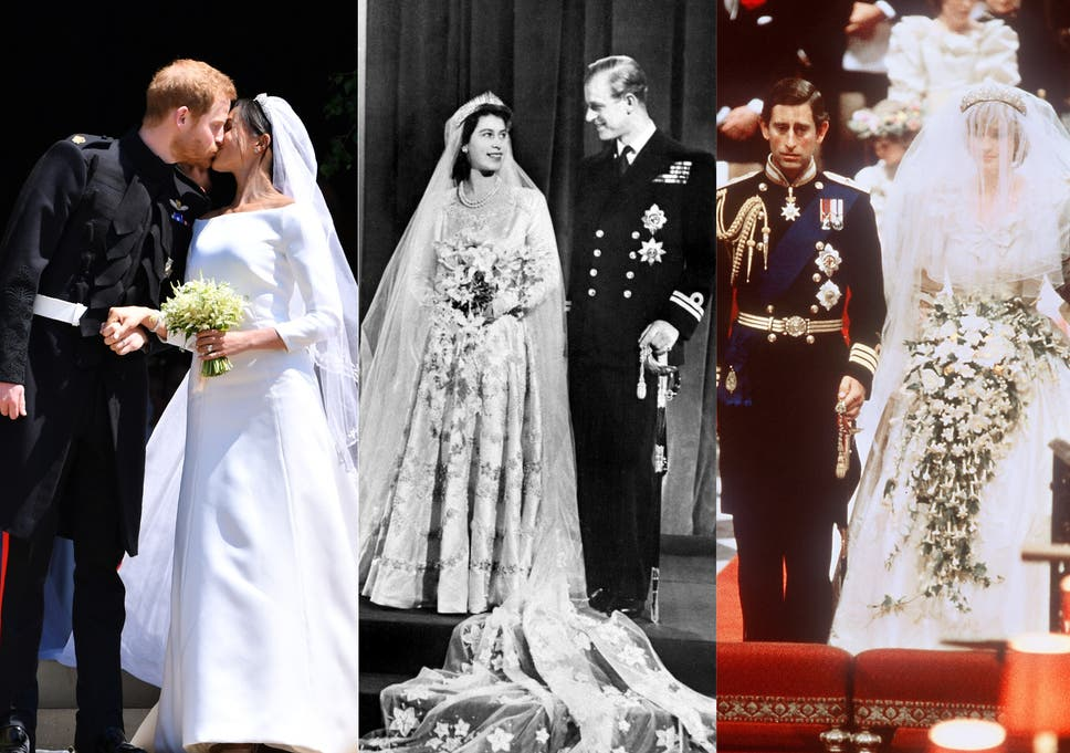 Created With Sketch Royal Wedding Ceremonies Through The Years In Pictures