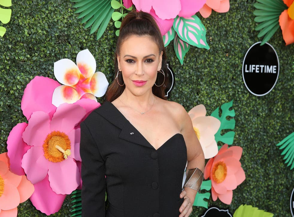 Alyssa Milano on 20 May 2019 in Los Angeles, California.