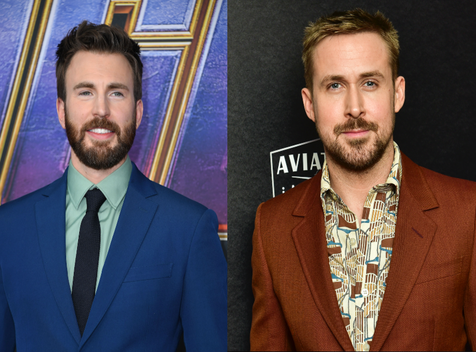 Chris Evans and Ryan Gosling have joined a new Netflix thriller.