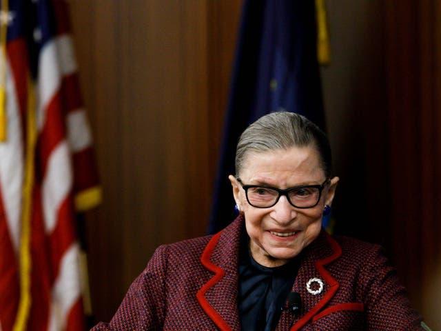 Ruth Bader Ginsburg murió el viernes