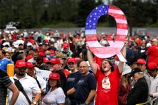 A third of Republicans believe QAnon 'mostly true', poll finds