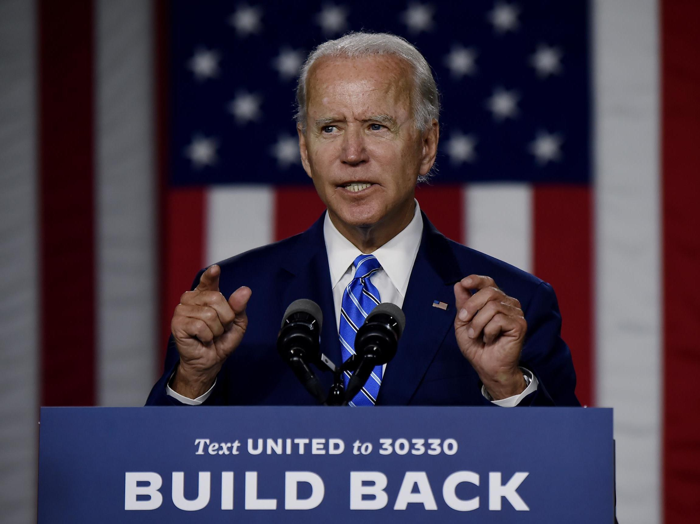 Joe Biden warns of potential Russian interference in the upcoming election after receiving intelligence briefings thumbnail
