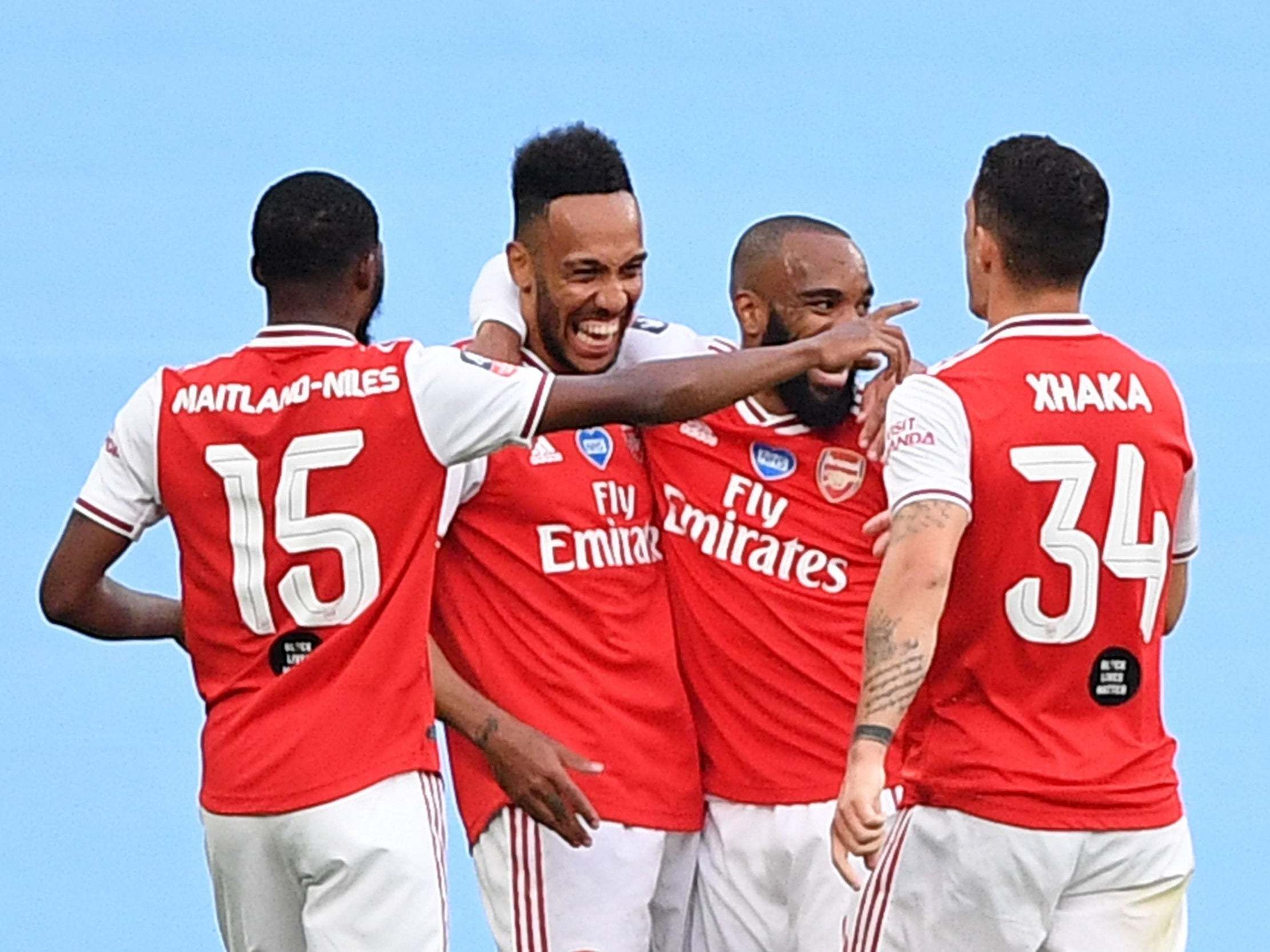 Arsenal vs Man City LIVE: Result and reaction from FA Cup semi-final tonight thumbnail