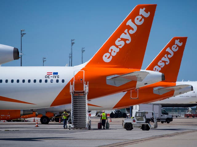 An easyJet flight was just a second from crashing