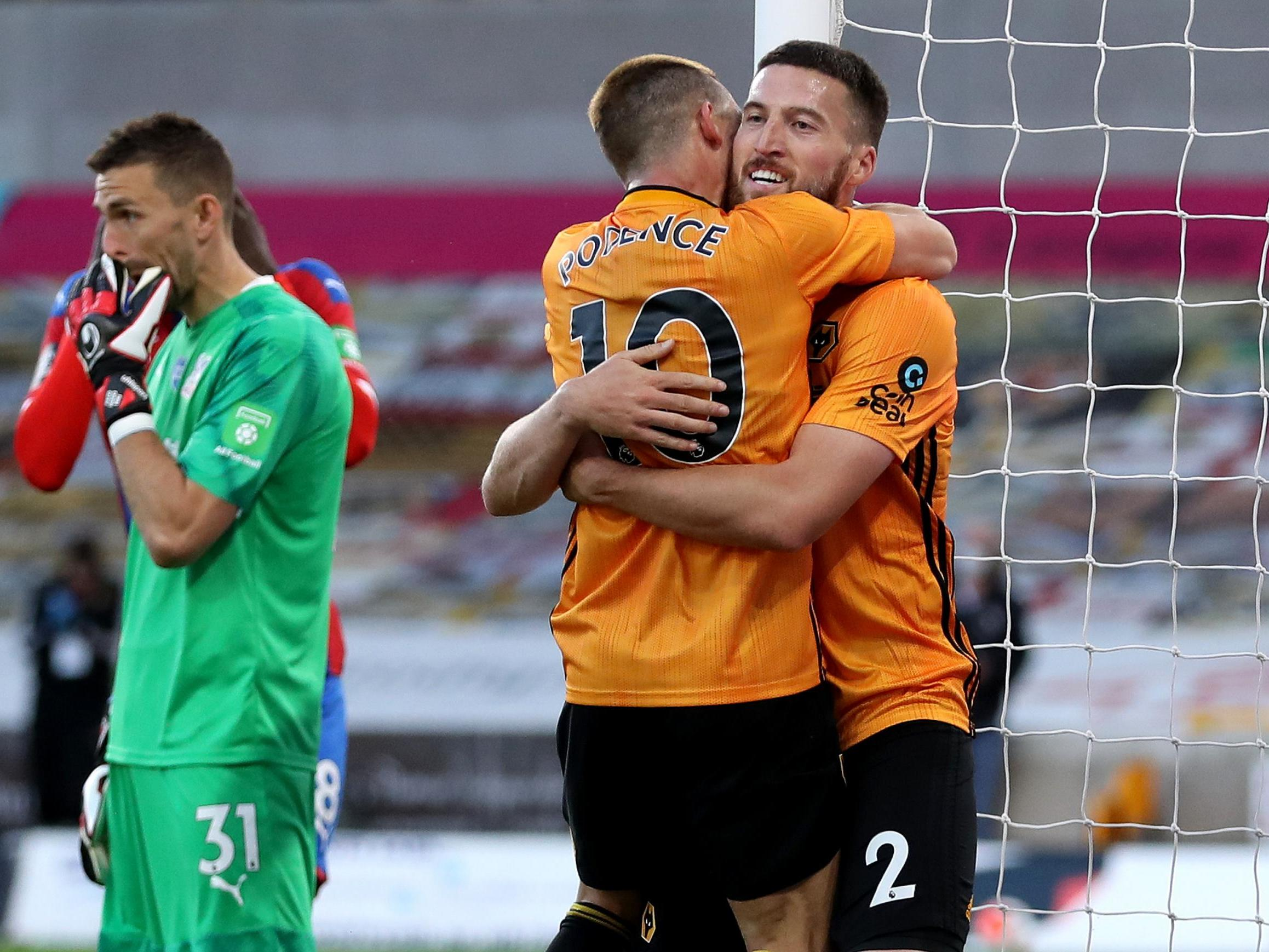Wolves Vs Crystal Palace Result Daniel Podence Puts Nuno S Side In Pole Position For Europa League The Independent The Independent
