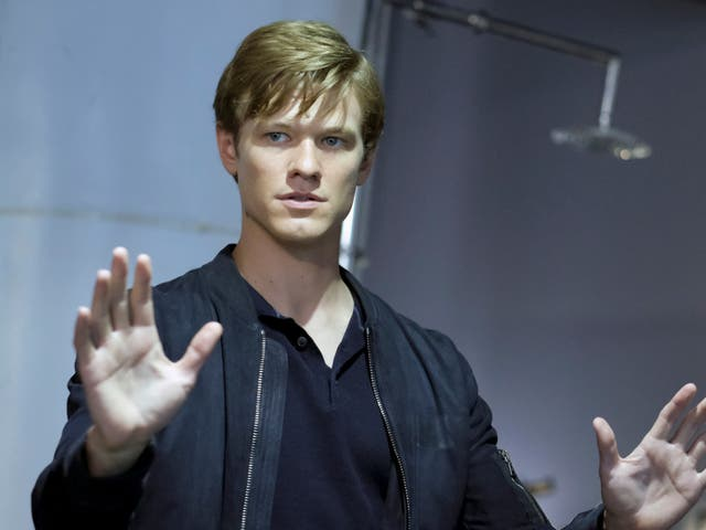 Lucas Till in the US TV series 'MacGyver'