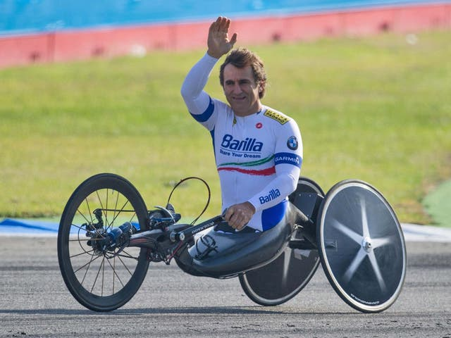 Alex Zanardi has been moved to a specialist treatment centre to continue his recovery from serious head injuries