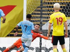Player ratings as Man City sweep aside struggling Watford
