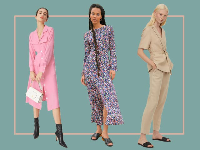 Suit up for your first day back in the office with dresses, jumpsuits, shoes and accessories to make going back to work a stylish affair