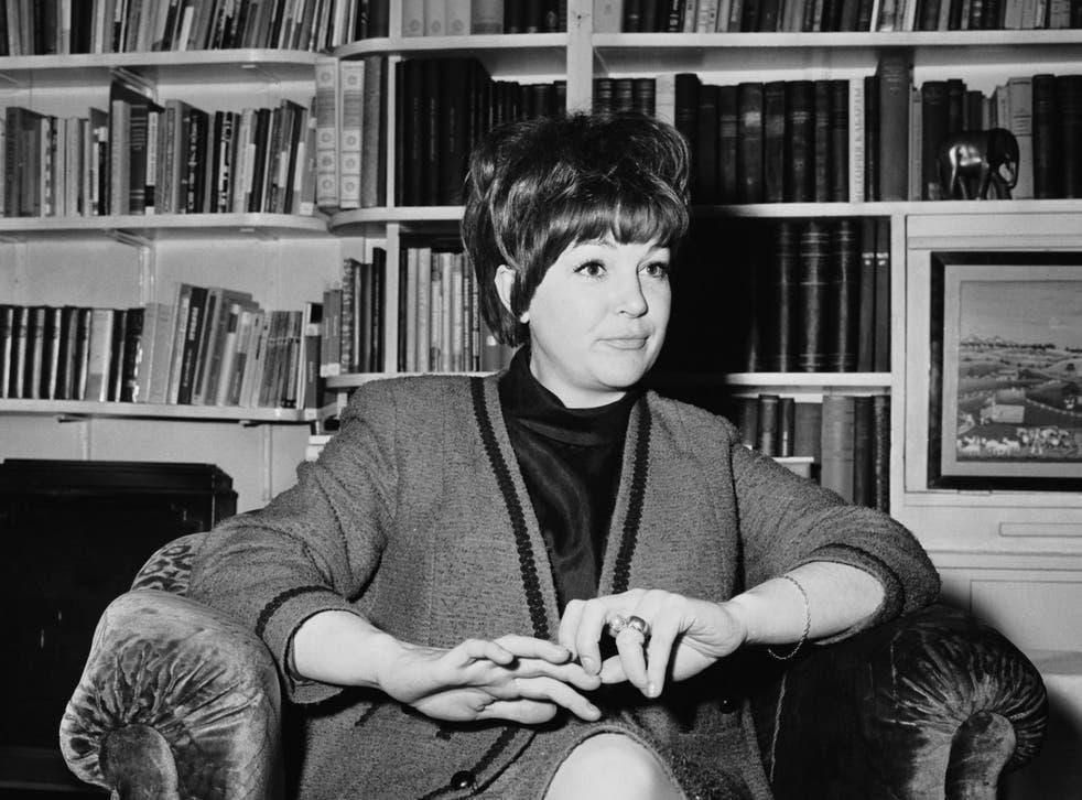 British jazz singer, actor and nightclub owner Annie Ross, 6th November 1964