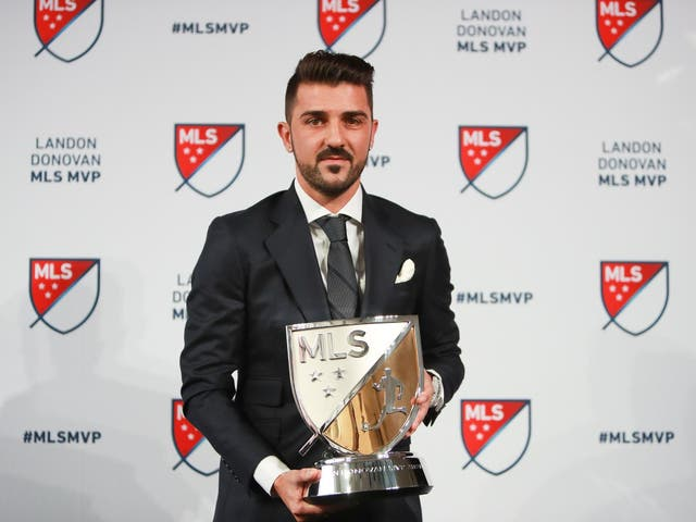 David Villa has been accused of sexual harassment during his time at New York City FC