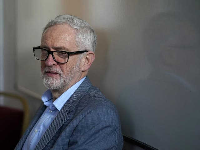 """In 2016 hostile MPs tried to replace Mr Corbyn as party leader in a so-called """"coup"""", but he was re-elected with a bigger majority in a second leadership contest"""