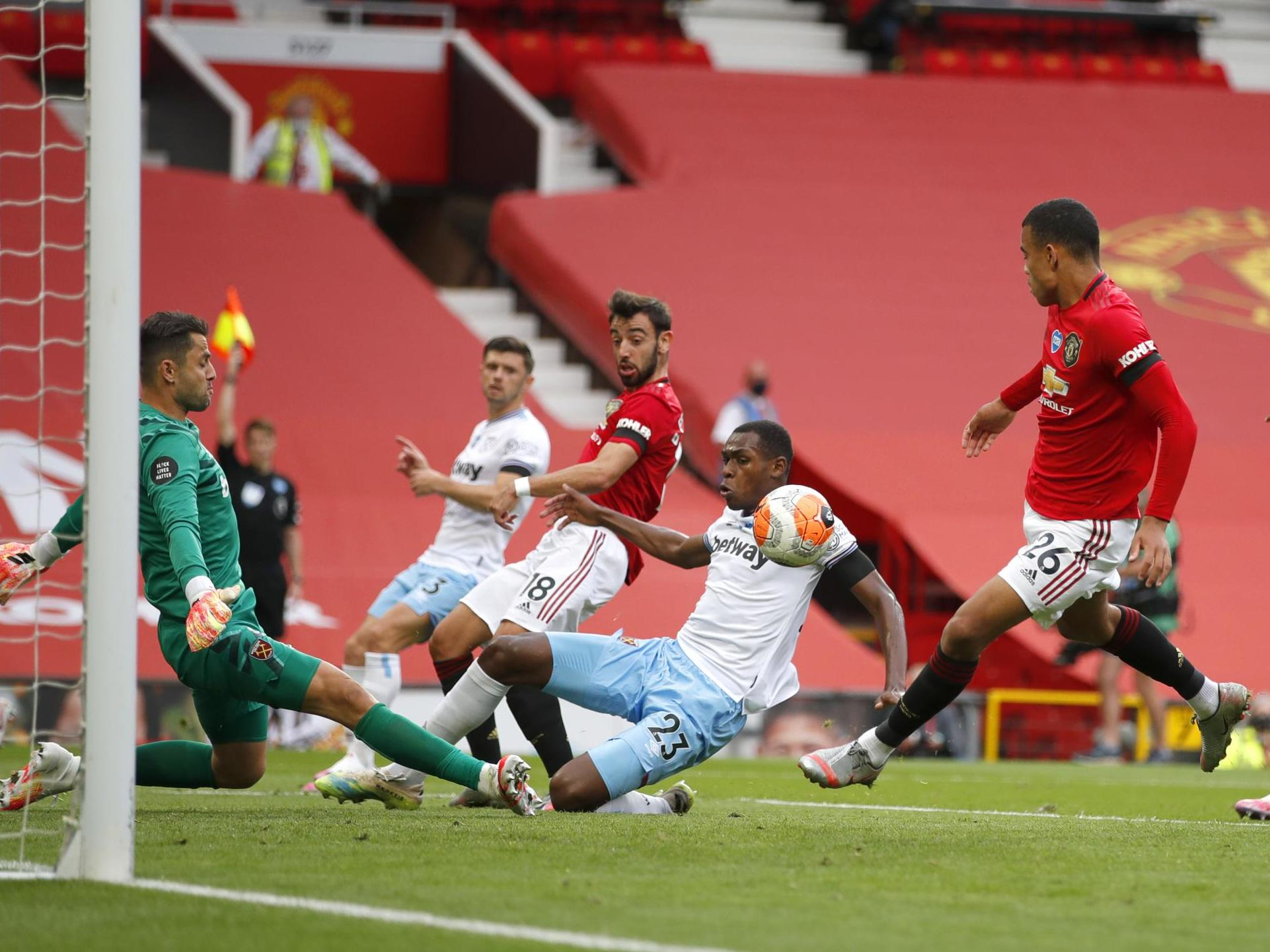 Man United Vs West Ham Result Player Ratings As Hammers Hold Ole Gunnar Solskjaer S Side The Independent The Independent