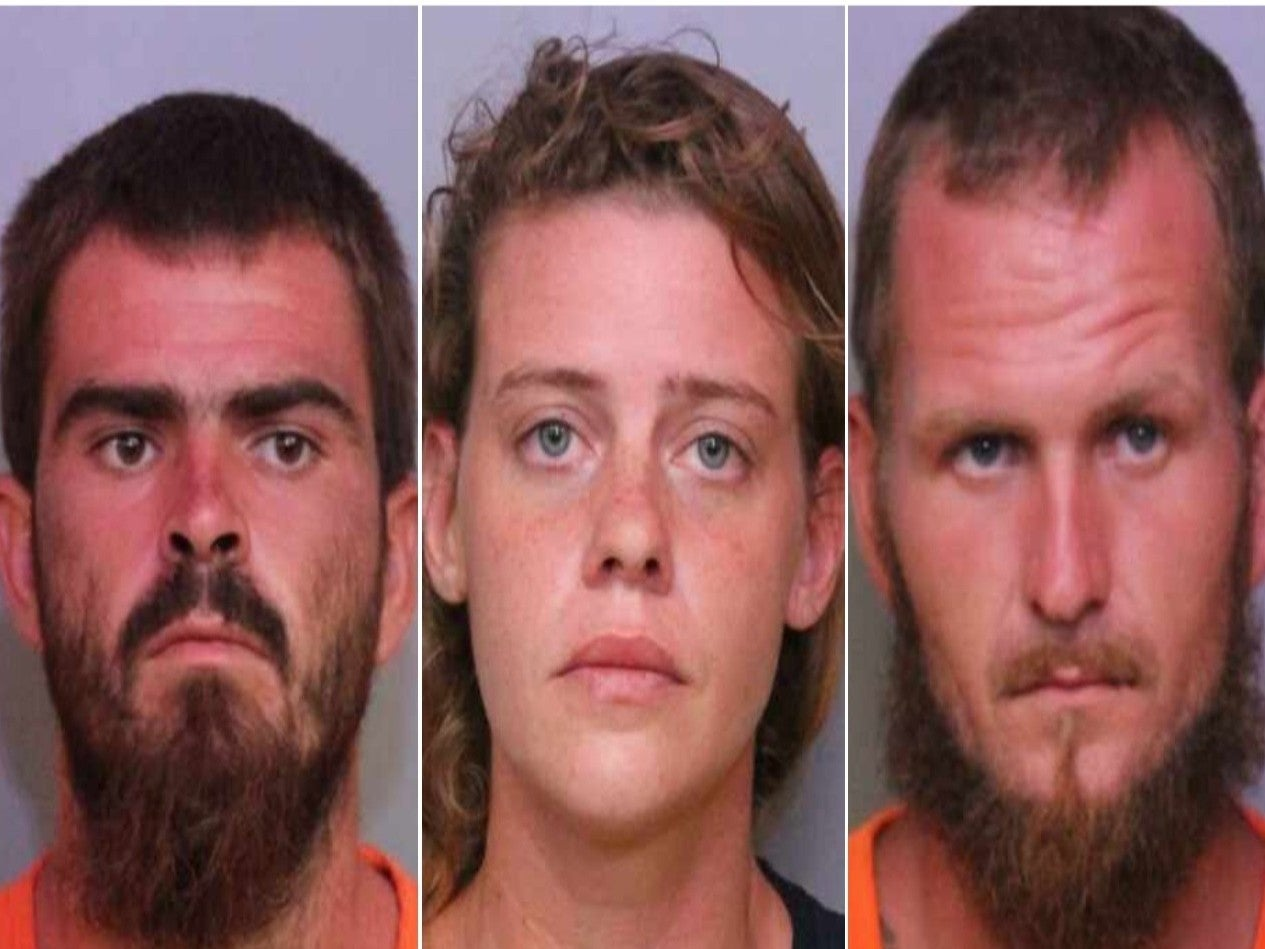Two brothers and one of their girlfriends arrested over 'massacre' of three friends on Florida fishing trip thumbnail