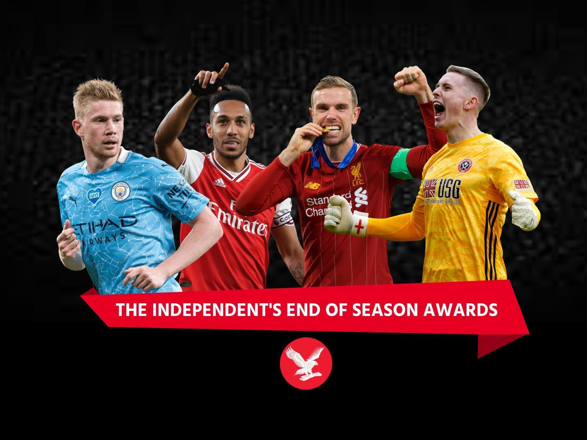 premier league awards team of the season best player transfer and moment of 2019 20 the independent the independent premier league awards team of the