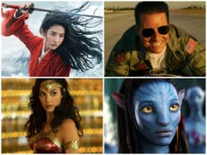 From Mulan to Avatar 2: Every delayed film and their new release date –updated