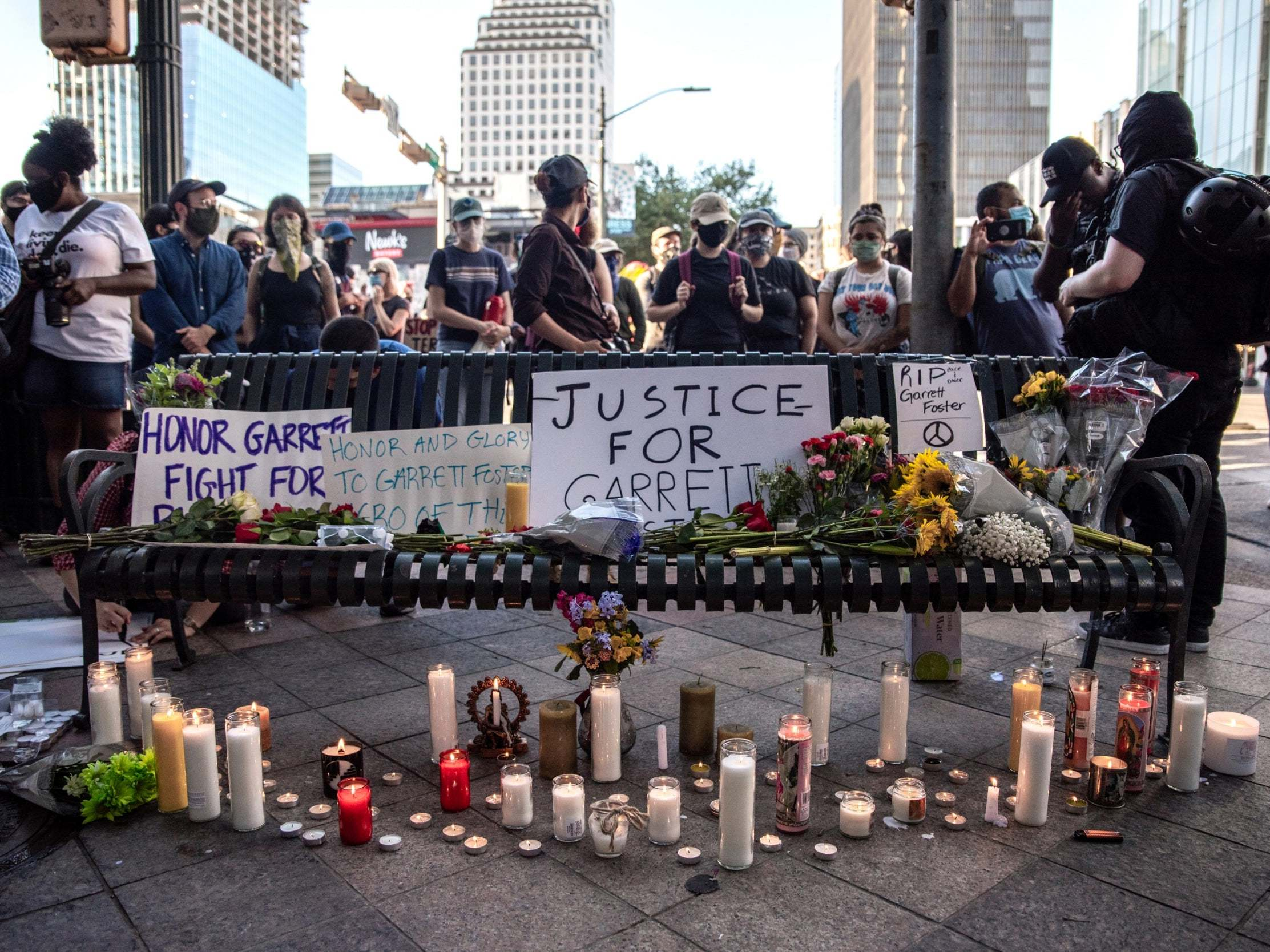 Texas: Police identify man fatally shot by driver at Austin demonstration thumbnail
