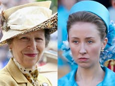 Princess Anne jokes about The Crown star taking hours to perfect hair