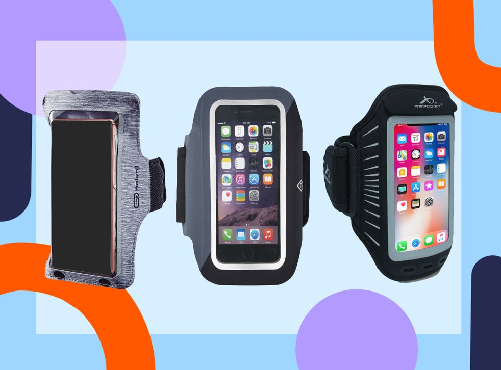 barricata Borgogna Tagliare  Best running armband 2020: Comfortably carry your phone and valuables | The  Independent