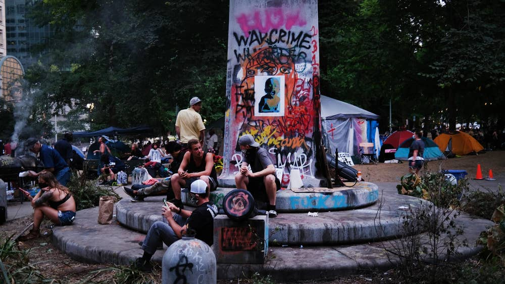Portland activists gather
