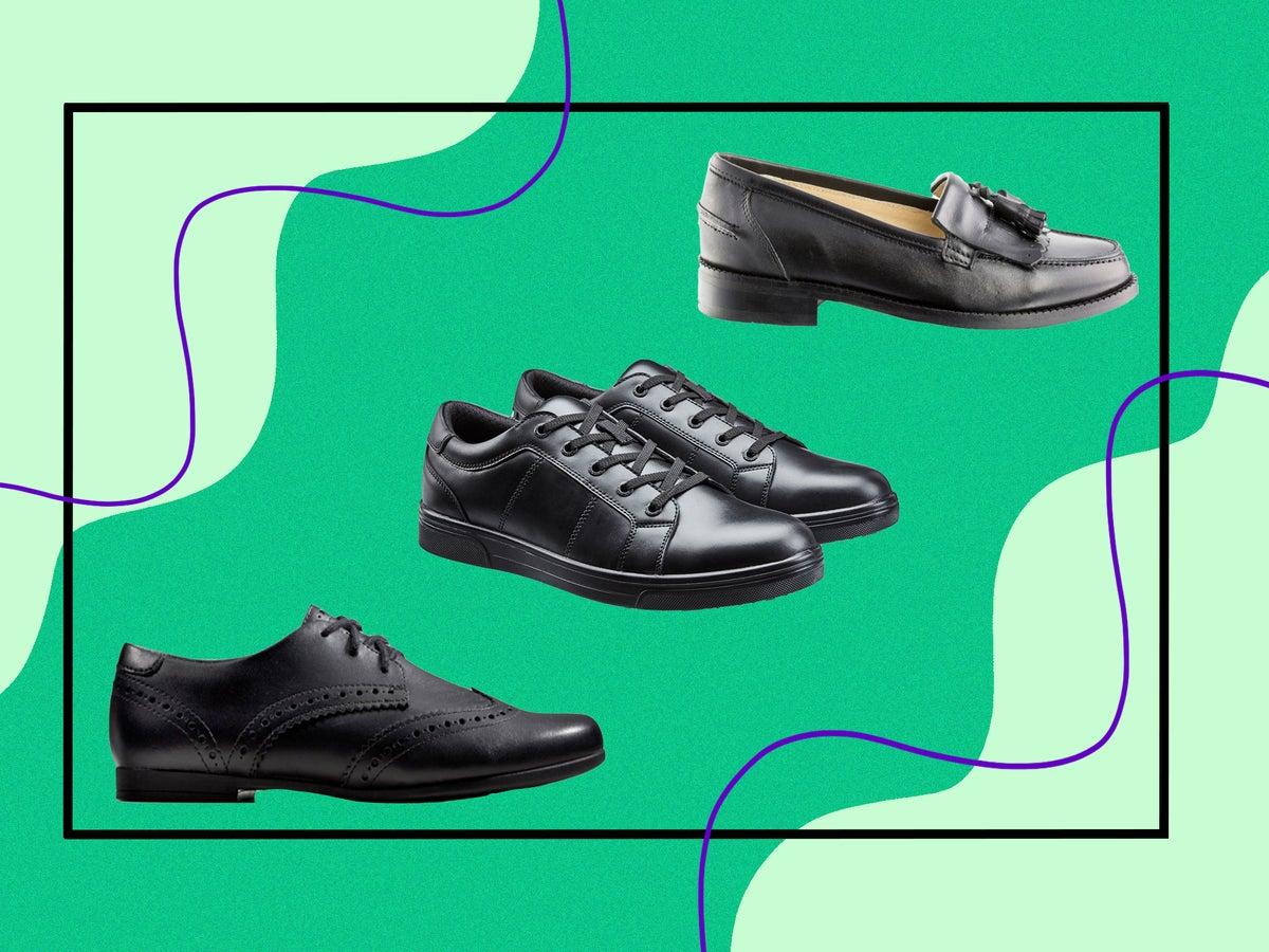 Kangol Skipton Shoes Juniors Girls Black Kids Footwwear