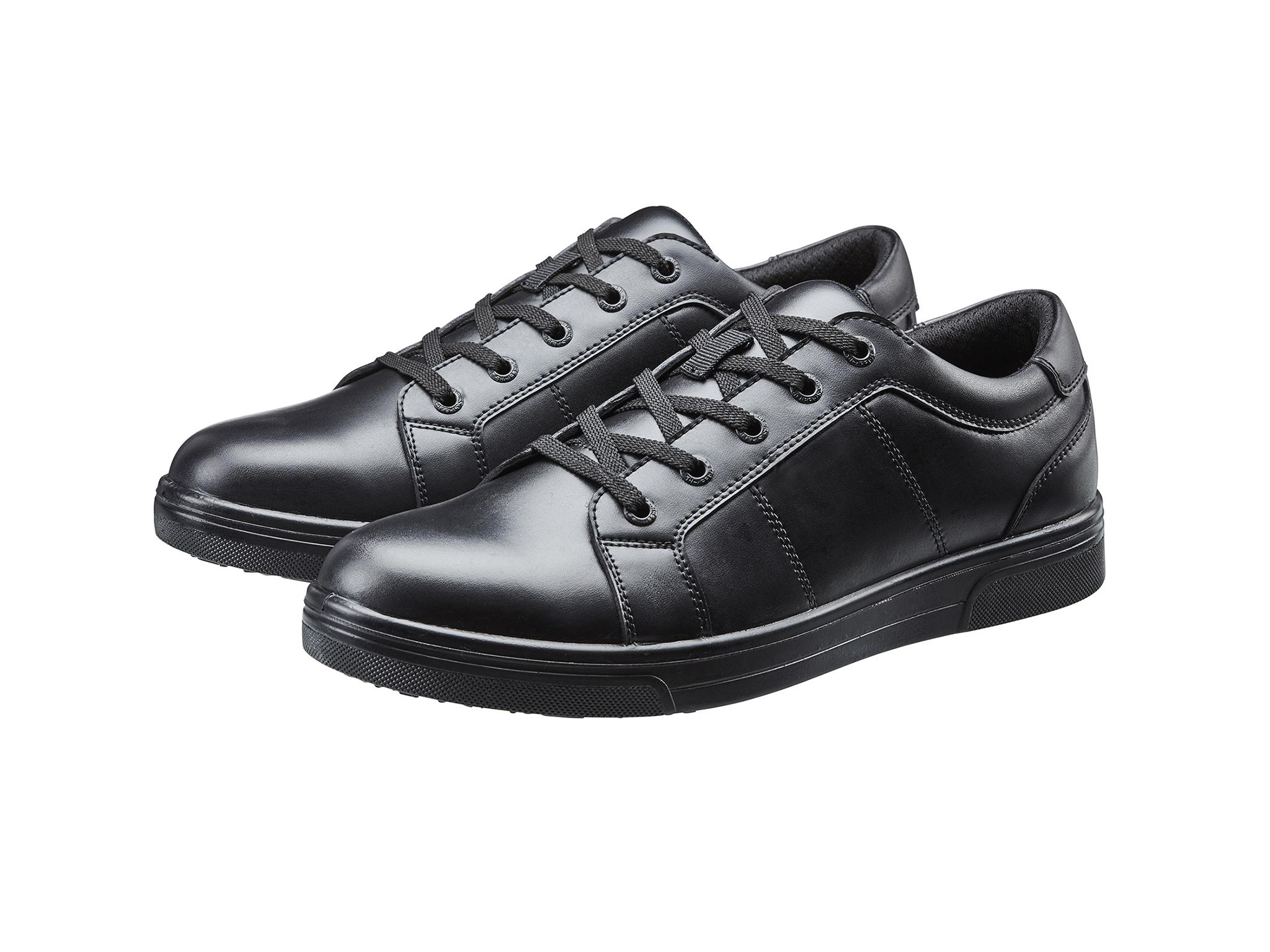 Red Tag Leather Boys School Shoes
