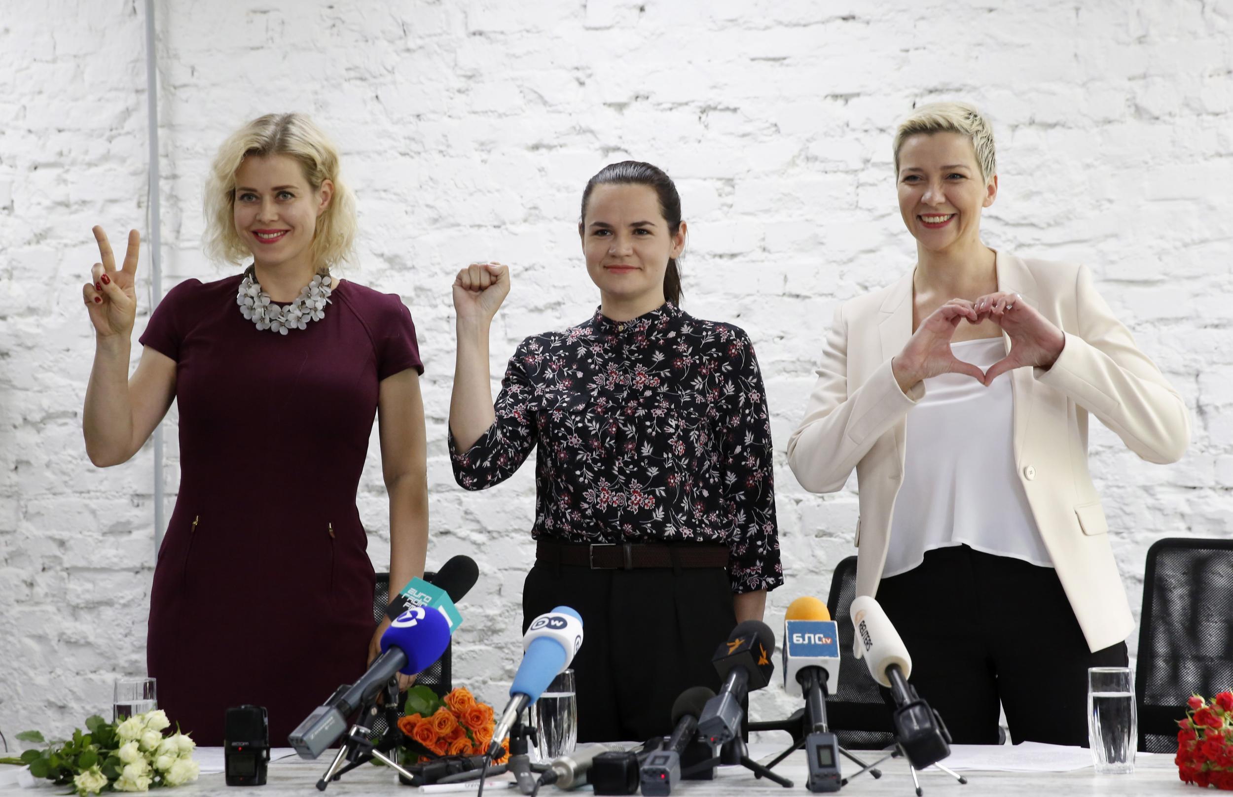 Belarus Opposition Rallies Voters With Promise Of Change  |Svetlana Tikhanovskaya