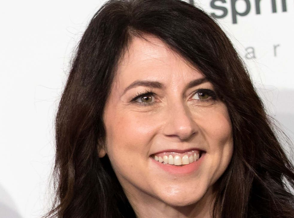 <p>MacKenzie Scott said that she had donated to 384 organisations across the US</p>