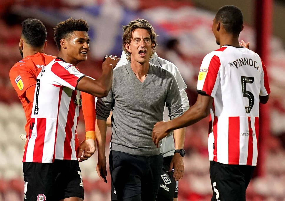 Brentford bid farewell to Griffin Park and book date at Wembley ...