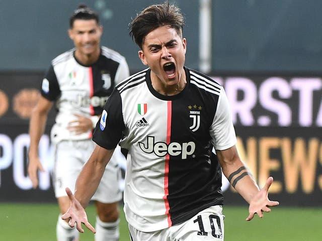 Juventus player Paulo Dybala