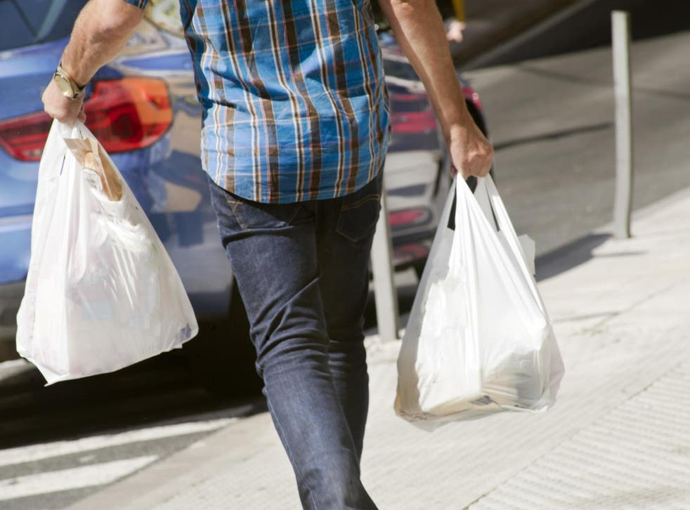 People in England have continued to use fewer plastic bags since the 5p charge was introduced in 2015