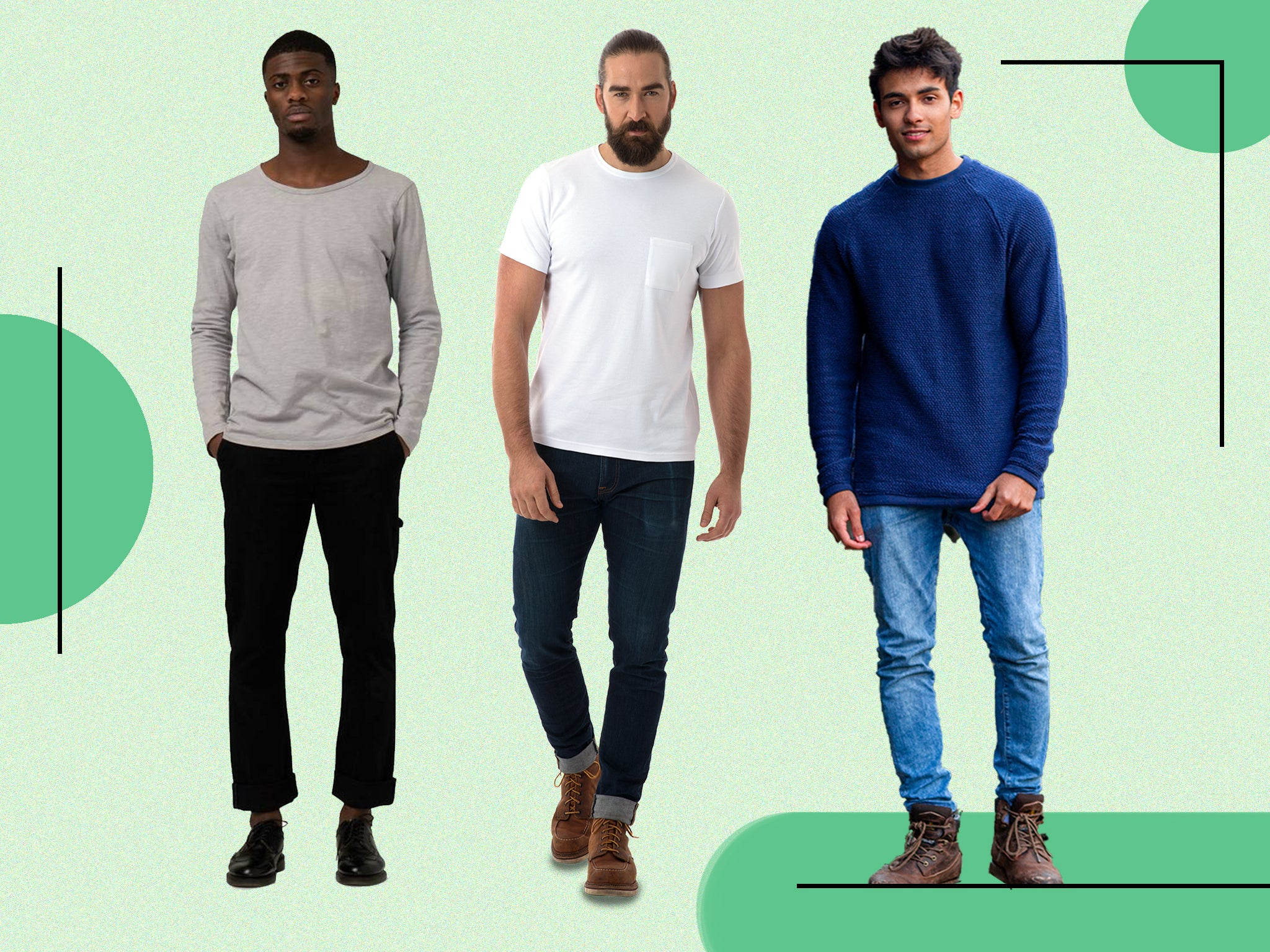 Best Sustainable Men S Clothing Brands Independent