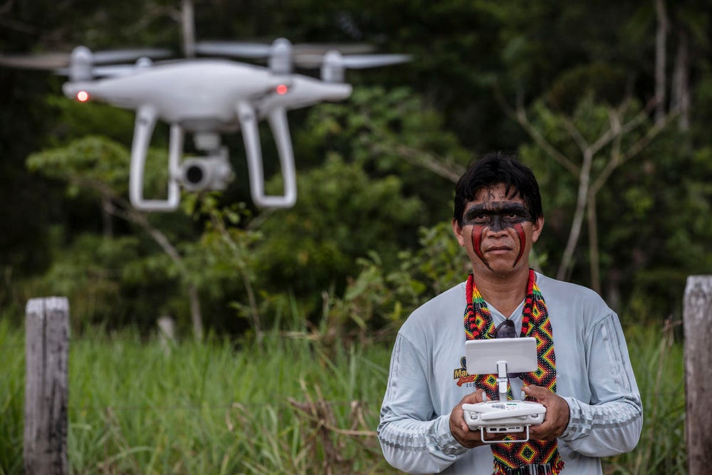 Indigenous Forest Defenders Turn to High-Tech Tools to Protect Amazon and Its Iconic Jaguar