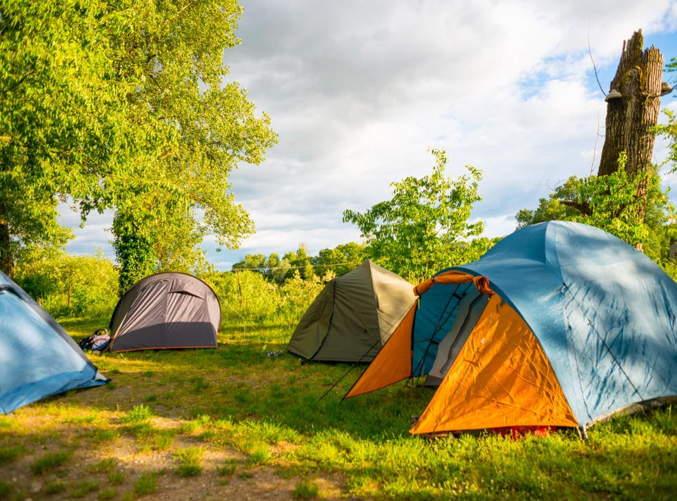 Camping offers good value and being a drive away from the UK can be reassuring